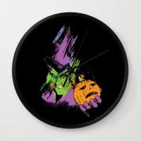 The Green Goblin Wall Clock