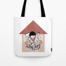 Stay Home Club (alternat… Tote Bag