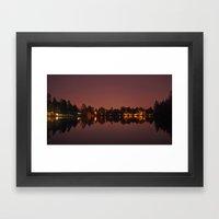 Wapato night Framed Art Print