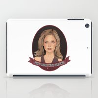 Buffy Summers - Once More with Feeling iPad Case