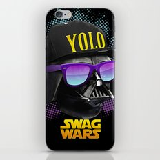 Darth Vader Swag iPhone & iPod Skin