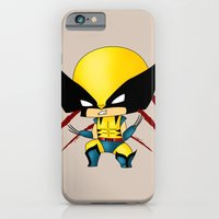 iPhone & iPod Case featuring Chibi Wolverine by artwaste