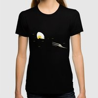 FORCK Womens Fitted Tee Black SMALL