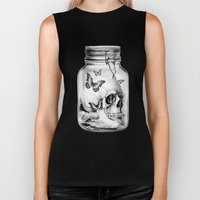 Lost thoughts Biker Tank