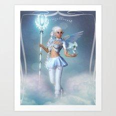 Angelbeat Art Print