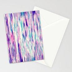 Elegant Girly Abstract Brushstrokes Stationery Cards