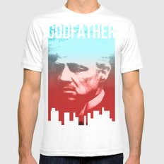 GODFATHER - Do I have your Loyalty? White Mens Fitted Tee SMALL