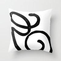 Monogrammed Letter G Throw Pillow