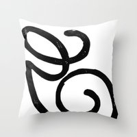 Monogrammed Letter G Throw Pillow