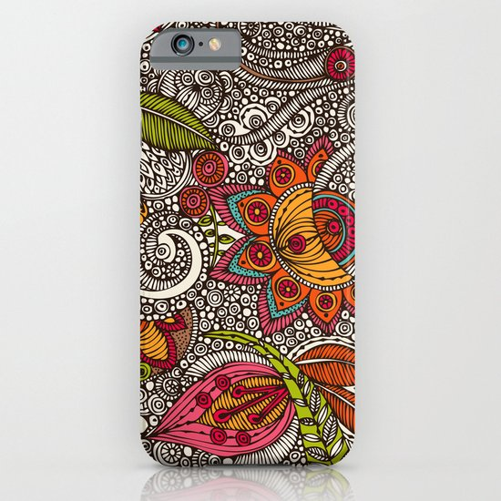 Random Flowers iPhone & iPod Case