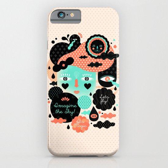 Imagine the sky iPhone & iPod Case