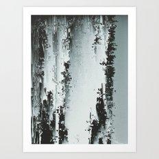 Silver Deposits Art Print