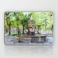 Old Fountain at Split, Croatia Laptop & iPad Skin