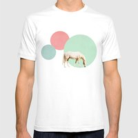 Mr. Horse Mens Fitted Tee White SMALL