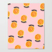 Citrus Lash Canvas Print