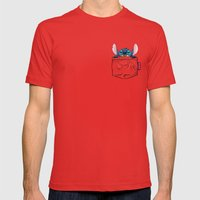 ImPortable Stitch... Mens Fitted Tee Red SMALL