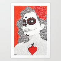 Day Of The Dead 5 Art Print
