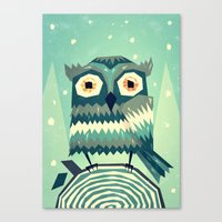 Boohoo! Canvas Print