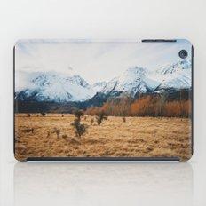 Peaceful New Zealand mountain landscape iPad Case