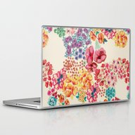 Laptop & iPad Skin featuring Flowers by Moniquilla