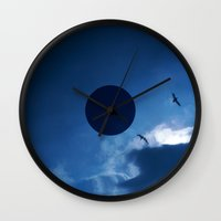 Float With The Tide Wall Clock