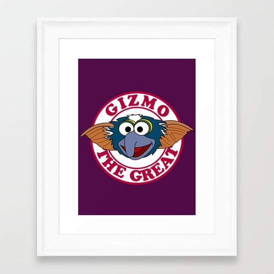 Gizmo the Great Framed Art Print