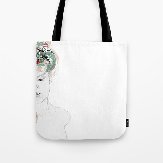 Beauty waiting Tote Bag