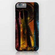 Colorful Space Needle iPhone 6 Slim Case