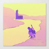 Rivergazer Canvas Print