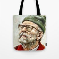 The Narrator - Moonrise Kingdom - Bob Balaban Tote Bag