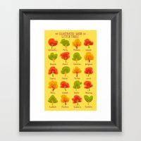 An Illustrated Guide To … Framed Art Print