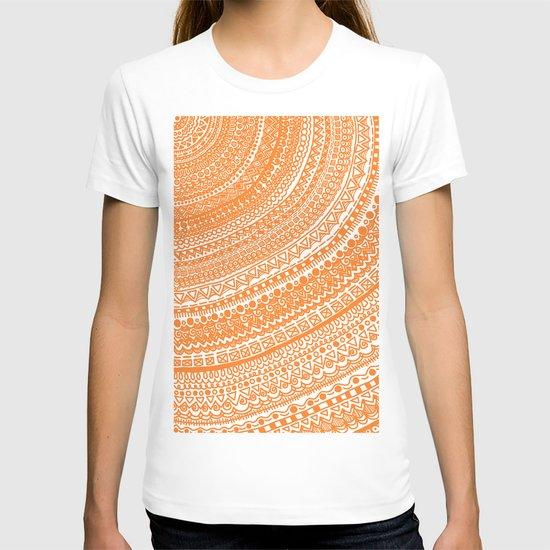 Orange Pulse o3. T-shirt