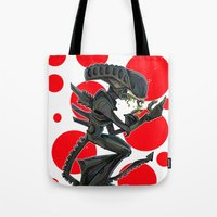 URBNPOP Aliens Attack Tote Bag