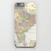 Vintage Map of India iPhone 6 Slim Case