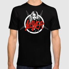 Vampire Slayer Black Mens Fitted Tee SMALL