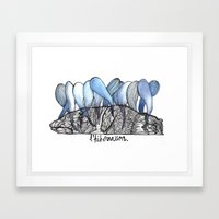 L'hibernation Framed Art Print