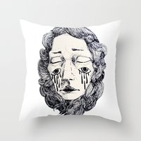 lines I Throw Pillow