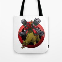 Merc with a Camel Tote Bag