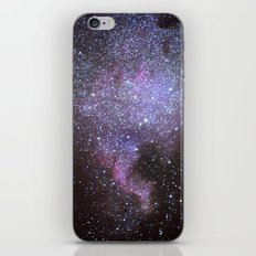 North American Nebulae. The Milky way. North America Nebula iPhone & iPod Skin