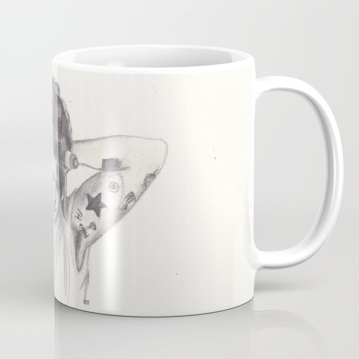 Harry Styles With A Bun Mug By Jen Eva Society6