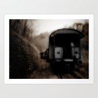 The Ghost Train II Art Print