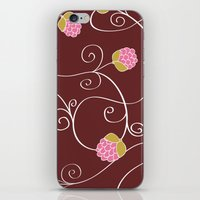 Raspberry Patch Red iPhone & iPod Skin