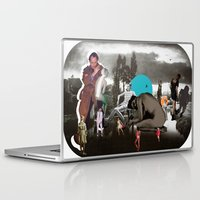 Laptop & iPad Skin featuring The Audit by Courtney Husselmann