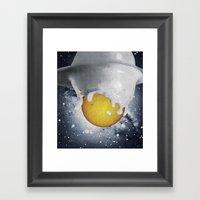 Birth Of Planet Framed Art Print