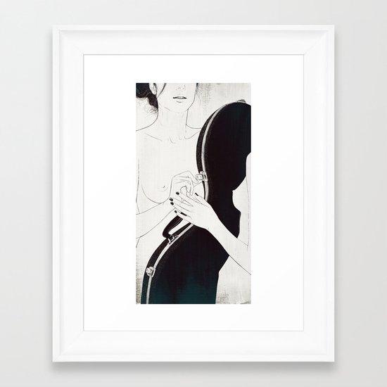 Duet. Pt.1 Framed Art Print