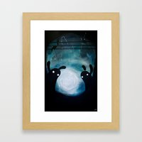mosters playground Framed Art Print