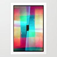 Constructs #1 (35mm Mult… Art Print