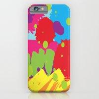graffiti iPhone & iPod Cases featuring Graffiti by Nwsc