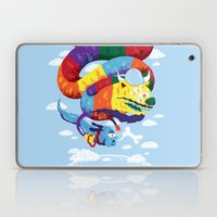 Stan, the Forgotten Luckdragon, and His Italian Skydog Skeletori Laptop & iPad Skin