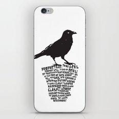 poe-try 2 iPhone & iPod Skin